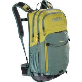 EVOC Stage Technical Performance Reppu 18l, moss green/olive